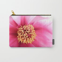 Altered Peony Carry-All Pouch