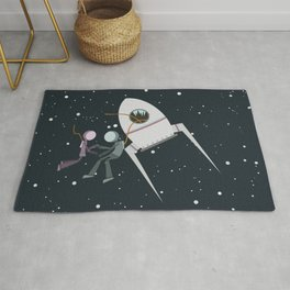 We and the Stars Rug