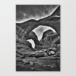 Double Arch - Arches National Park Canvas Print