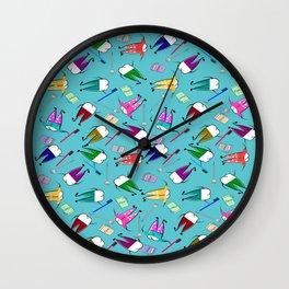 Teeth People Wall Clock