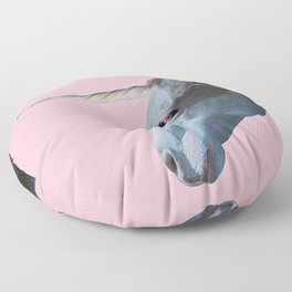I really believe in myself Floor Pillow
