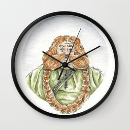 Traveling Companion  Wall Clock