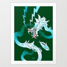 Storm Guardian Art Print