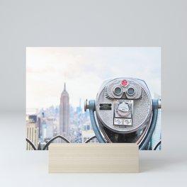 269. Watching Me, New York Mini Art Print