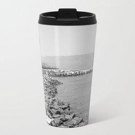 Los Angeles Beach Travel Mug