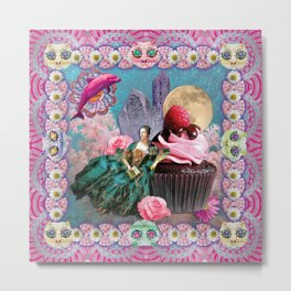magical crystal dreamland  Metal Print