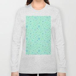 Atomic Starry Night in Mod Mint Long Sleeve T-shirt