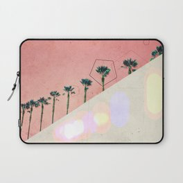 Levitated Mass (Red) Laptop Sleeve