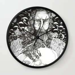 Steampunk Origin of Man Wall Clock