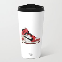 "AIR JORDAN THE 10: AIR JORDAN 1 ""OFF-WHITE"" Travel Mug"