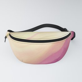 Orchid Pastel Abstract Fanny Pack