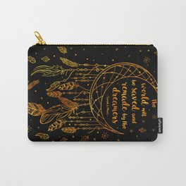 Saved and Remade - gold Carry-All Pouch