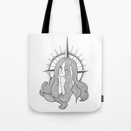 St. Alexandra in Tears Tote Bag