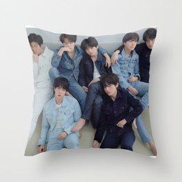BTS / Bangtan Boys Throw Pillow