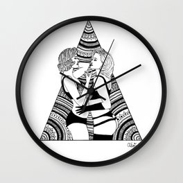 The Girls Wall Clock