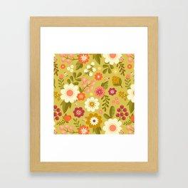 Magical Flower Garden Framed Art Print