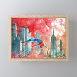 Dawn in NY Framed Mini Art Print
