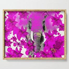 Elephant #66 Serving Tray