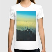 los angeles T-shirts featuring Los Angeles by Sbnumb3