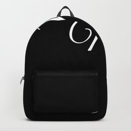 Mr (Black) Backpack