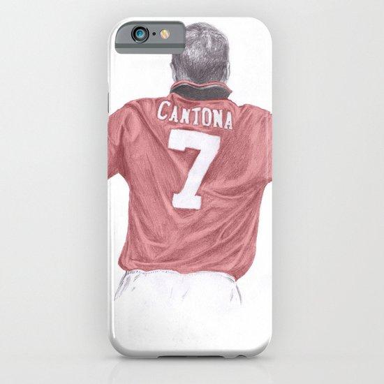Eric Cantona iPhone & iPod Case