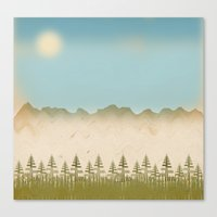 relax Canvas Prints featuring Relax by Tammy Kushnir