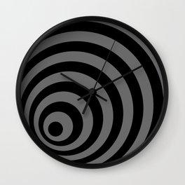 Eccentric Circles Wall Clock