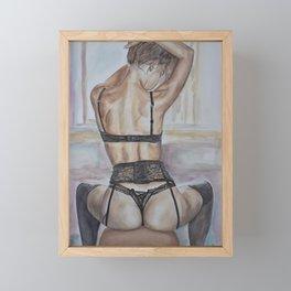 Sensual Nude Art, Erotic Art  Framed Mini Art Print
