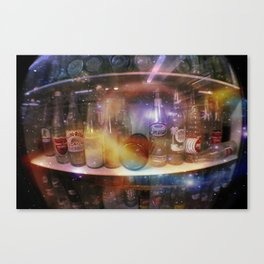 astronauts gotta drink too Canvas Print