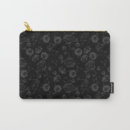 Crystalised Roses, Dark Floral Fantasy Carry-All Pouch