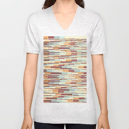 Abstract pattern 67 Unisex V-Neck
