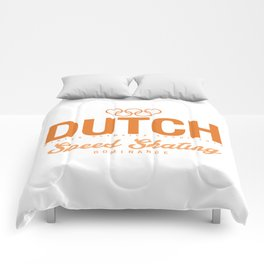 Dutch - Speed Skating Comforters