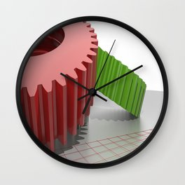 Precision mechanics Wall Clock