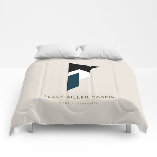 Black-Billed Magpie Comforters