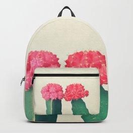 Plaid Cacti Backpack