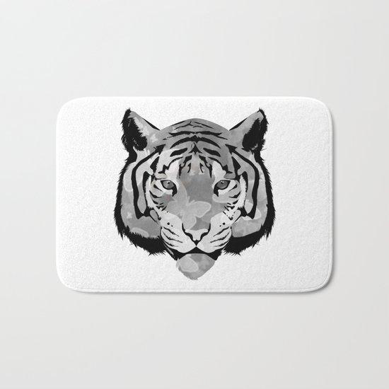 Tiger B&W Bath Mat