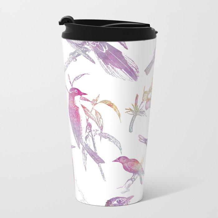 If you're a bird, I'm a bird. Metal Travel Mug