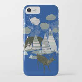 magic mountains iPhone Case