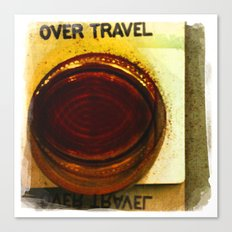 over travel 1 Canvas Print