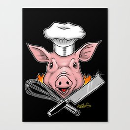 Chef Canvas Print