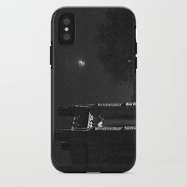 Moon and Tower iPhone Case