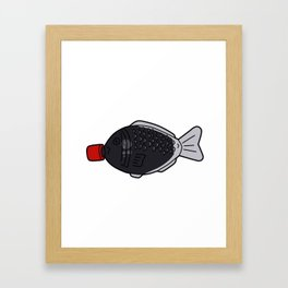 Sushi Soy Sauce Framed Art Print