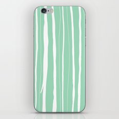 Vertical Living Mint iPhone Skin