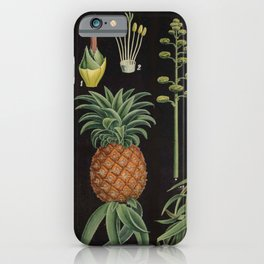 Botanical Pineapple iPhone Case