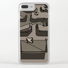 ZXC Clear iPhone Case