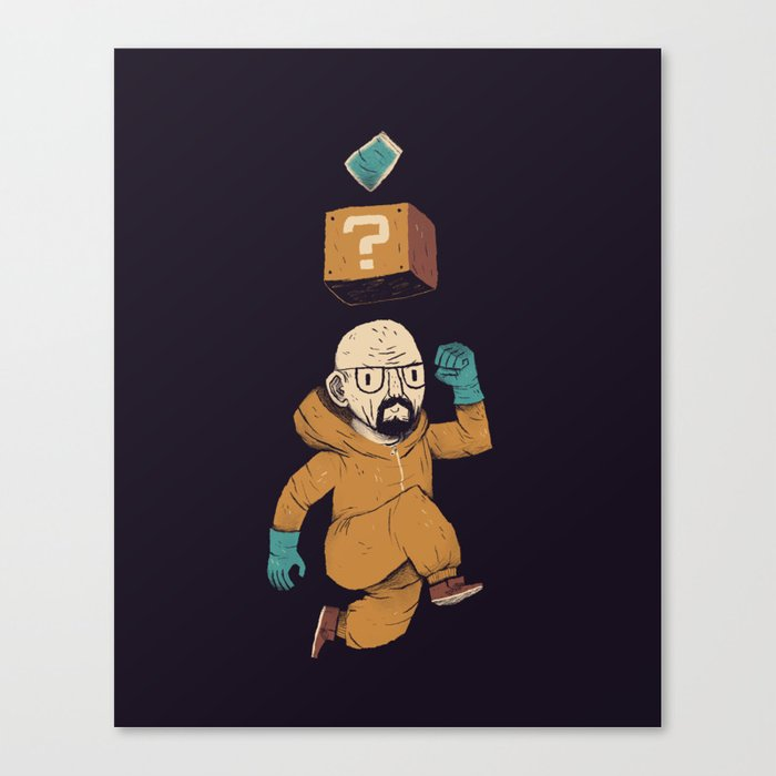heisenberg power up Canvas Print