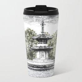 The Pagoda in the snow Travel Mug