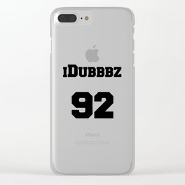 idubbbz Clear iPhone Case