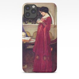 John William Waterhouse The Crystal Ball iPhone Case