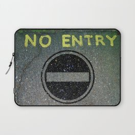 NO ENTRY 03 Laptop Sleeve